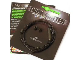 Карповый монтаж KORDA Dark Matter Leader Heli 40 lb 1м Silt KSZ48