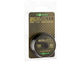 Поводковый материал KORDA Kamo Coated Hooklik 50lb 20м KKB50