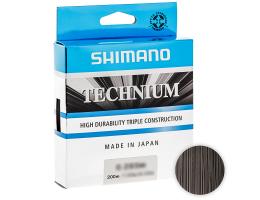 Леска SHIMANO TECHNIUM 200м. 0.18мм. BLACK