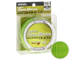 Плетеный шнур VARIVAS AVANI SEA BASS MAX TRACER 150м. 0.8PE GREEN