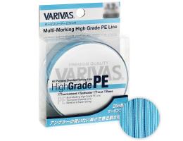 Плетеный шнур VARIVAS HIGH GRADE 300м. 1.5PE BLUE