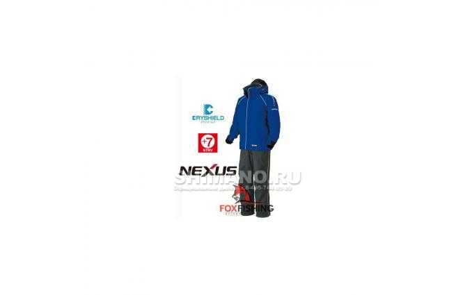 Костюм SHIMANO NEXUS DRYSHIELD RB055J M (синий) фото №1