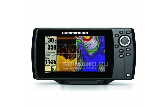 Эхолот HUMMINBIRD HELIX 10X SI GPS фото №1