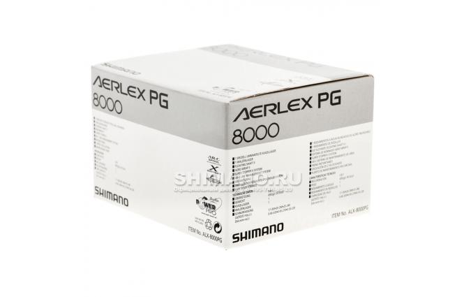 Катушка безынерционная SHIMANO AERLEX 8000PG фото №9