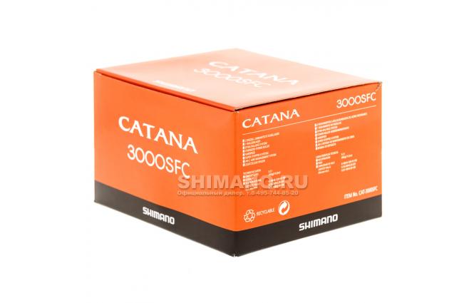 Катушка безынерционная SHIMANO CATANA 3000SFC фото №10