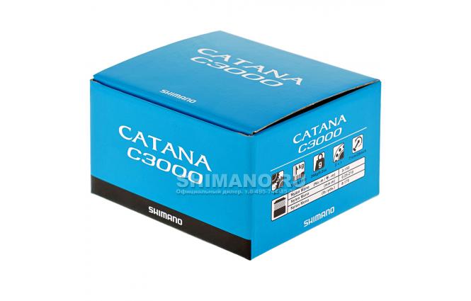 Катушка безынерционная SHIMANO CATANA C3000FD фото №9