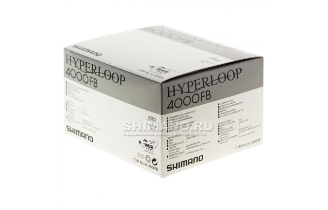 Катушка безынерционная SHIMANO HYPERLOOP 4000FB фото №7