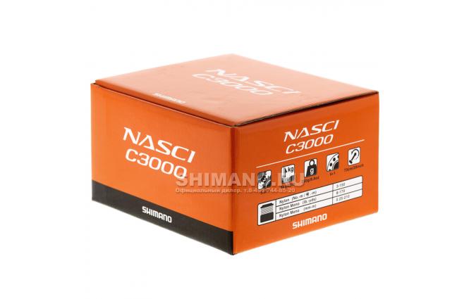 Катушка безынерционная SHIMANO NASCI C3000FB фото №9