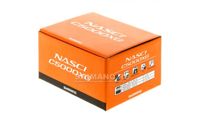 Катушка безынерционная SHIMANO NASCI C5000XG фото №9