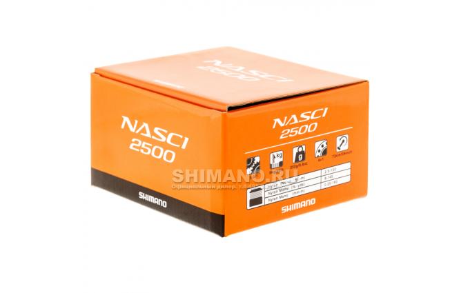 Катушка безынерционная SHIMANO NASCI 2500 FB фото №9