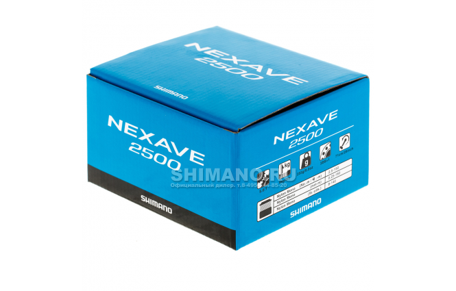 Катушка безынерционная SHIMANO NEXAVE 2500FE фото №9