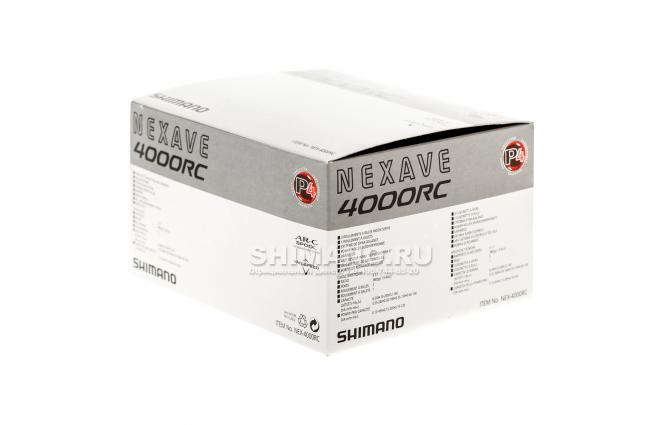 Катушка безынерционная SHIMANO NEXAVE 4000RC фото №10