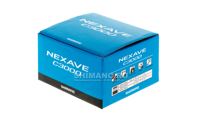 Катушка безынерционная SHIMANO NEXAVE C3000FE фото №9
