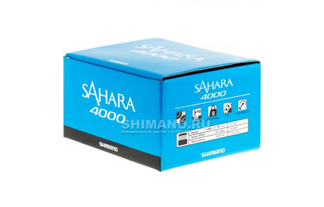 Катушка безынерционная SHIMANO SAHARA 4000FI фото №9