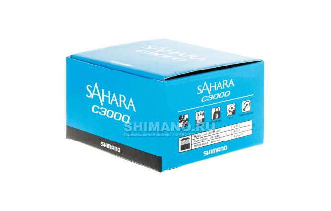 Катушка безынерционная SHIMANO SAHARA C3000FI фото №9