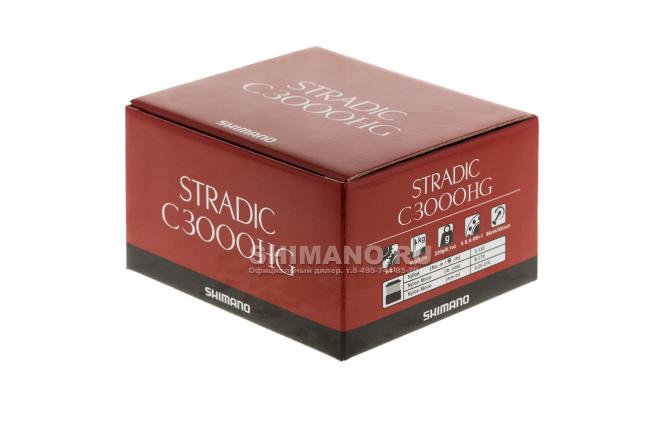 Катушка безынерционная SHIMANO STRADIC C3000 FK фото №9