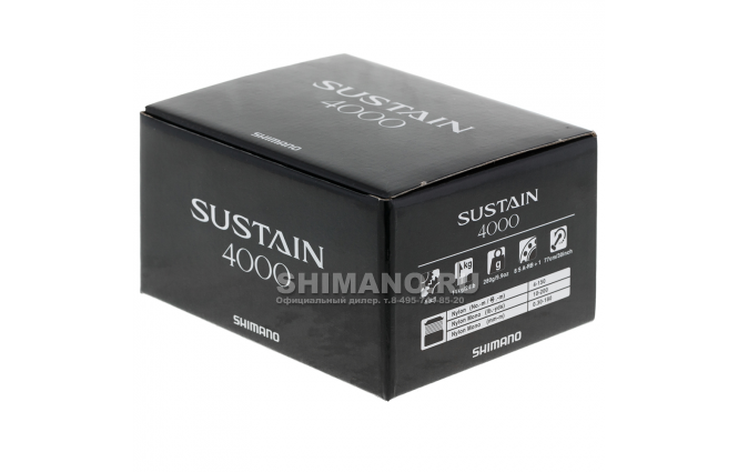 Катушка безынерционная SHIMANO SUSTAIN 17 4000 FI фото №9