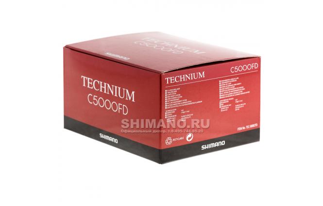 Катушка безынерционная SHIMANO TECHNIUM 5000CFD фото №10