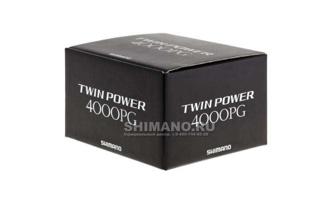 Катушка безынерционная SHIMANO TWIN POWER 15 4000PG фото №9