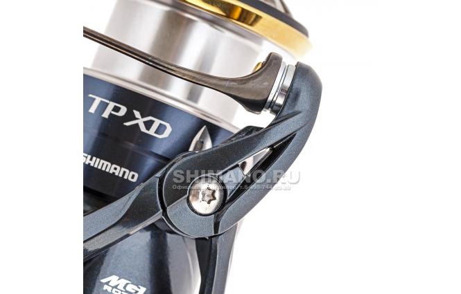 Катушка безынерционная SHIMANO TWIN POWER XD 4000XG фото №3