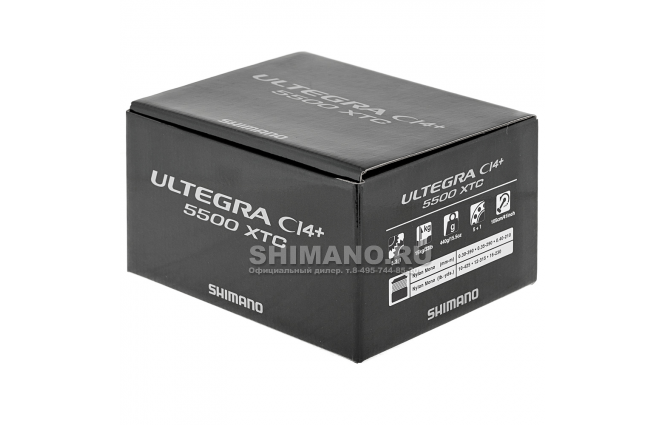 Катушка безынерционная SHIMANO ULTEGRA CI4 5500XTC фото №11