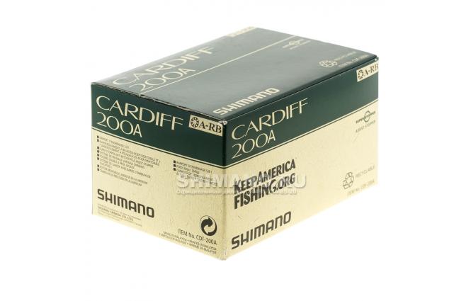Катушка мультипликаторная SHIMANO CARDIFF 200A (RH) фото №8