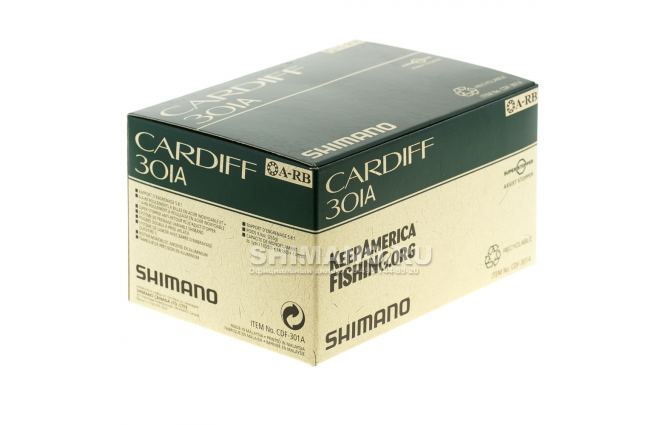 Катушка мультипликаторная SHIMANO CARDIFF 301A (LH) фото №8