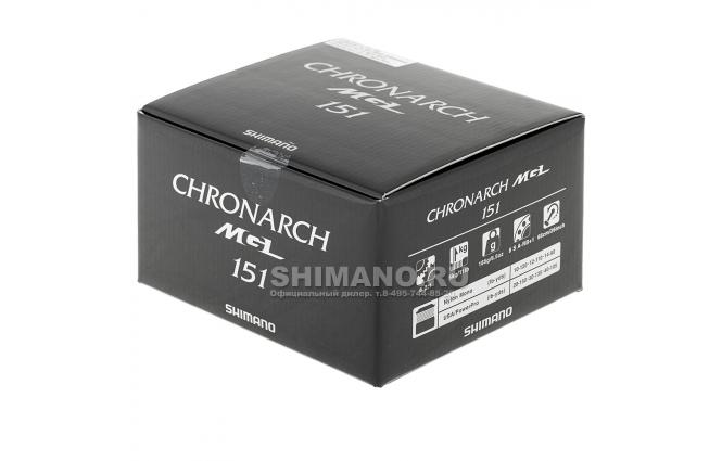 Катушка мультипликаторная SHIMANO CHRONARCH MGL 151Left фото №8