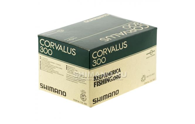 Катушка мультипликаторная SHIMANO CORVALUS 300 фото №8
