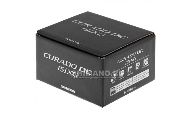 Катушка мультипликаторная SHIMANO CURADO DC 151XG (LH) фото №8