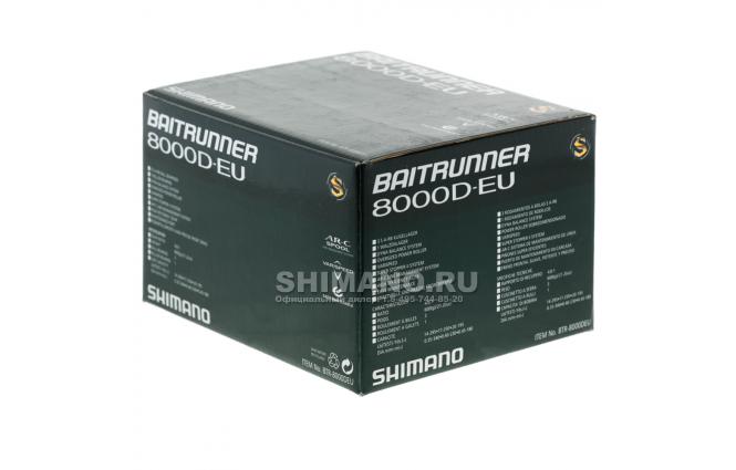 Катушка с байтраннером SHIMANO BAITRUNNER D 8000D EU MODEL фото №9