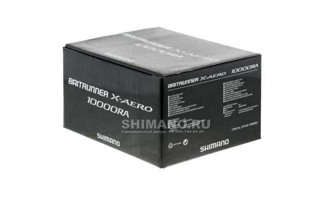 Катушка с байтраннером SHIMANO BAITRUNNER X AERO 10000 RA фото №10