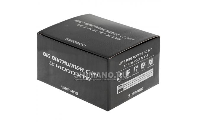 Катушка с байтраннером SHIMANO BAITRUNNER CI4 XTR-B LC 14000 XTB фото №11