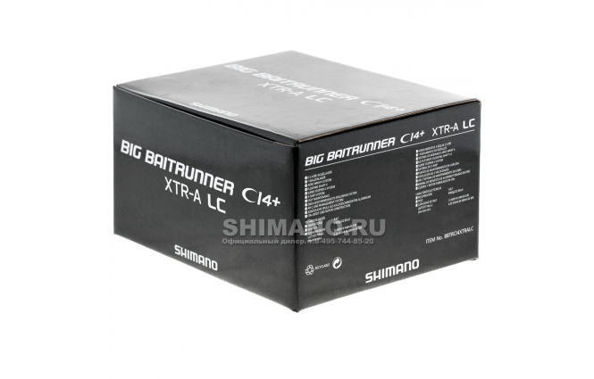 Катушка с байтраннером SHIMANO BIG BAITRUNNER CI4 XTR-A LC фото №10
