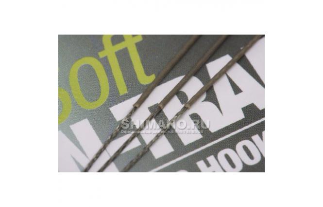 Поводковый материал KORDA N Trap Soft Weedy Green 30lb KNT03 фото №9