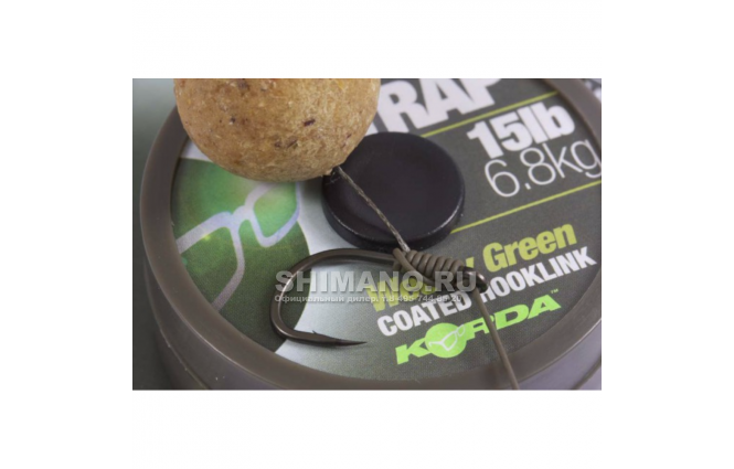 Поводковый материал KORDA N Trap Soft Weedy Green 20lb KNT02 фото №6