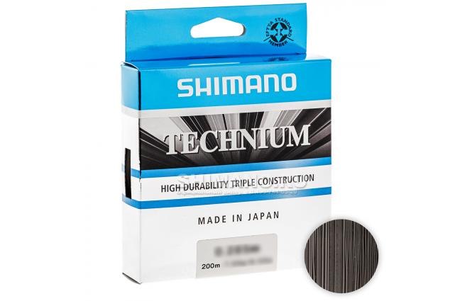 Леска SHIMANO TECHNIUM 200м. 0.18мм. BLACK фото №1