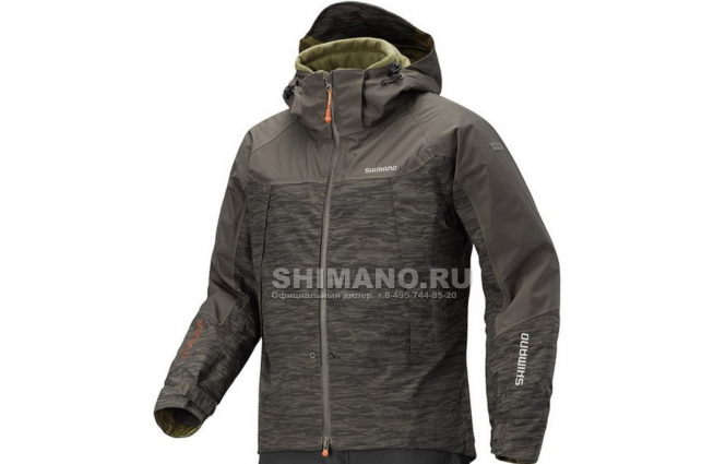 Куртка SHIMANO DS ADVANCE WARM JACKET XXXL фото №1