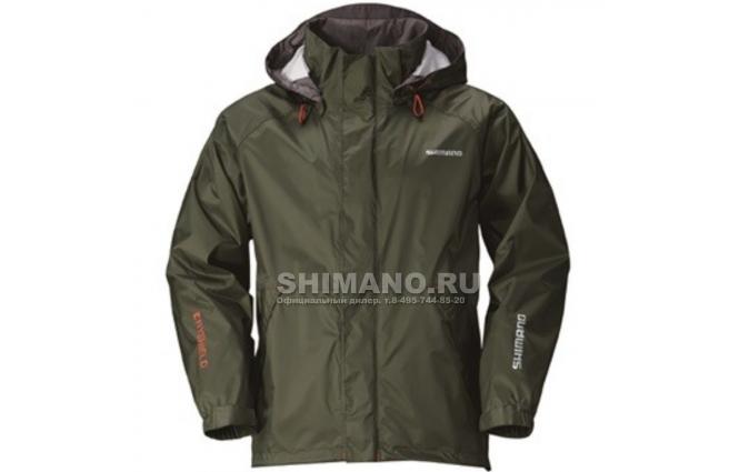 Куртка SHIMANO DS BASIC JACKET Хаки 2XL фото №1