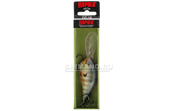 Воблер RAPALA DIVES-TO DT16-BG фото №2