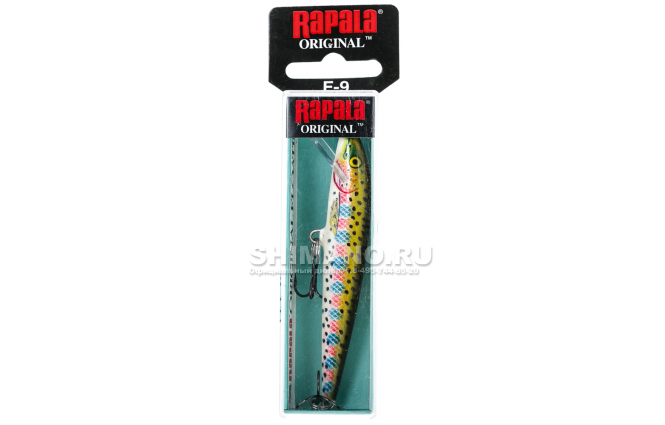 Воблер RAPALA ORIGINAL FLOATING F07-RT фото №2