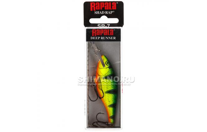 Воблер RAPALA SHAD RAP SR07-FP фото №2