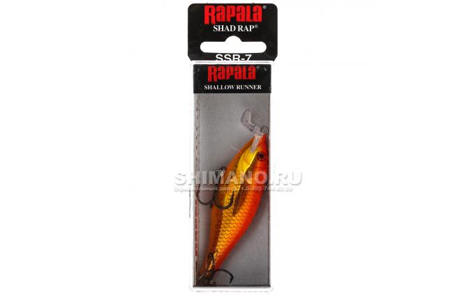 Воблер RAPALA SHALLOW SHAD RAP SSR09-GF фото №2