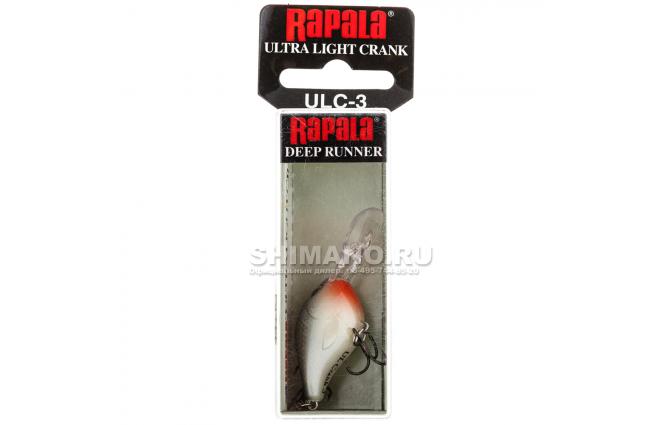 Воблер RAPALA ULTRA LIGHT CRANK ULC03-SD фото №2