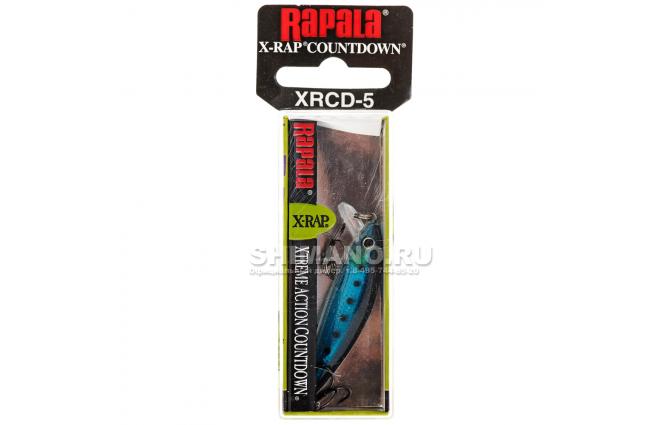 Воблер RAPALA X-RAP COUNTDOWN XRCD05-BSRD фото №2