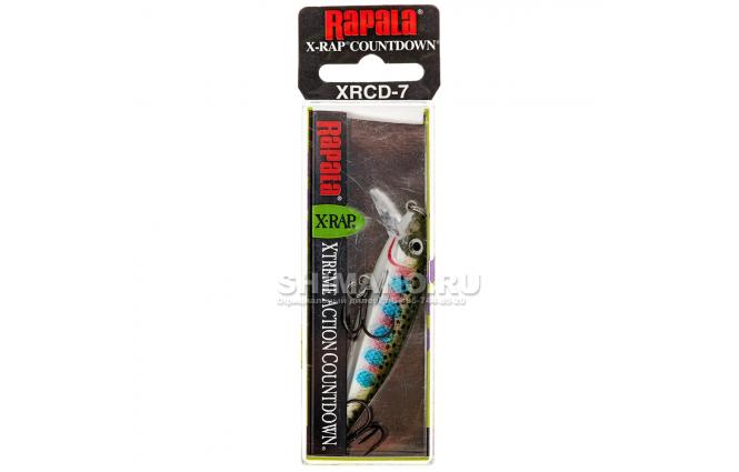 Воблер RAPALA X-RAP COUNTDOWN XRCD05-RT фото №2