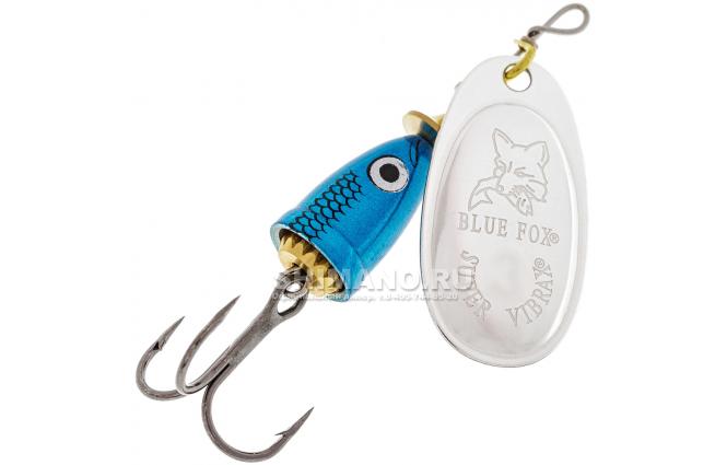 Вращающаяся блесна BLUE FOX VIBRAX SHAD BFSD-5 BS фото №1