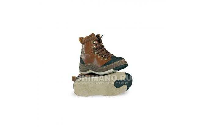 Ботинки для вейдерсов RAPALA PROWEAR коричн. размер 42 фото №1